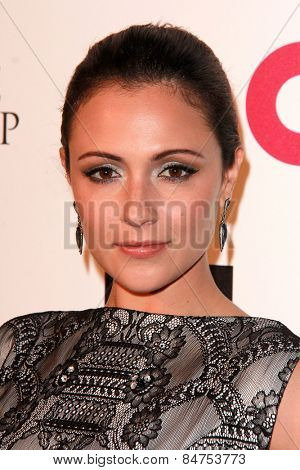 LOS ANGELES - FEB 22:  Italia Ricci at the Elton John Oscar Party 2015 at the City Of West Hollywood Park on February 22, 2015 in West Hollywood, CA