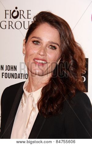 LOS ANGELES - FEB 22:  Robin Tunney at the Elton John Oscar Party 2015 at the City Of West Hollywood Park on February 22, 2015 in West Hollywood, CA
