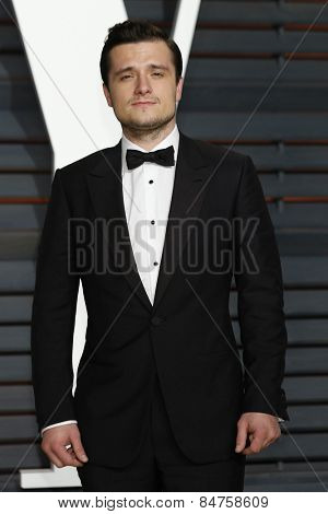 LOS ANGELES - FEB 22:  Josh Hutcherson at the Vanity Fair Oscar Party 2015 at the Wallis Annenberg Center for the Performing Arts on February 22, 2015 in Beverly Hills, CA