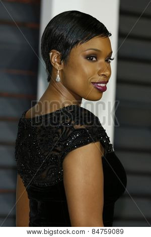 LOS ANGELES - FEB 22:  Jennifer Hudson at the Vanity Fair Oscar Party 2015 at the Wallis Annenberg Center for the Performing Arts on February 22, 2015 in Beverly Hills, CA