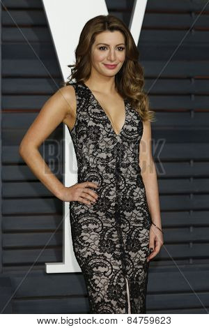 LOS ANGELES - FEB 22:  Nasim Pedrad at the Vanity Fair Oscar Party 2015 at the Wallis Annenberg Center for the Performing Arts on February 22, 2015 in Beverly Hills, CA