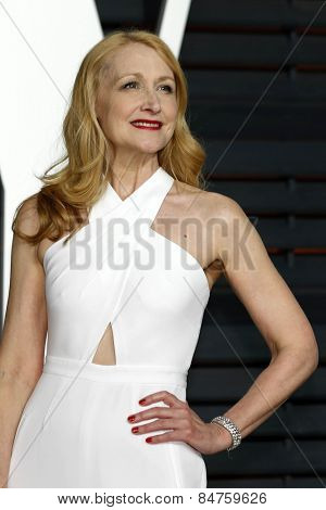 LOS ANGELES - FEB 22:  Patricia Clarkson at the Vanity Fair Oscar Party 2015 at the Wallis Annenberg Center for the Performing Arts on February 22, 2015 in Beverly Hills, CA