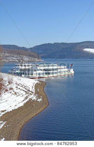 Biggesee Reservoir,Sauerland,Germany