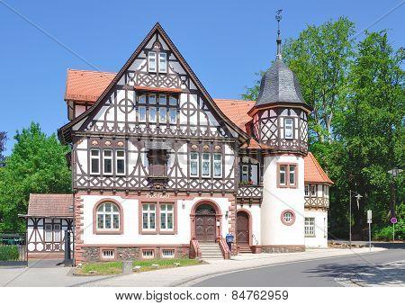 Bad Liebenstein,Thuringia,Germany