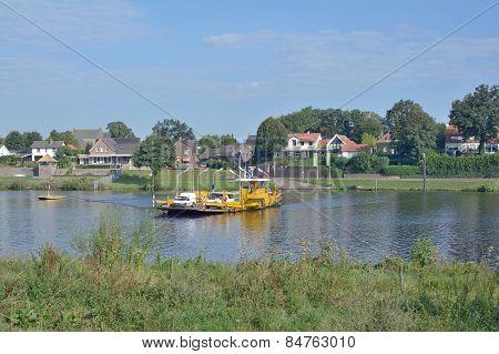 Kessel,Maas River,Limburg,Netherlands