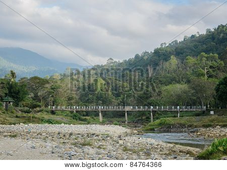 Thai Countryside Nature Background