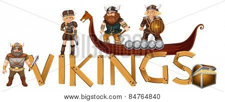 male and female viking sign