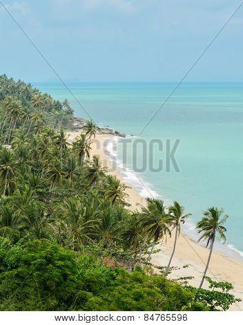 Seascape Beach In Nakhon Si Thammarat, Thailand