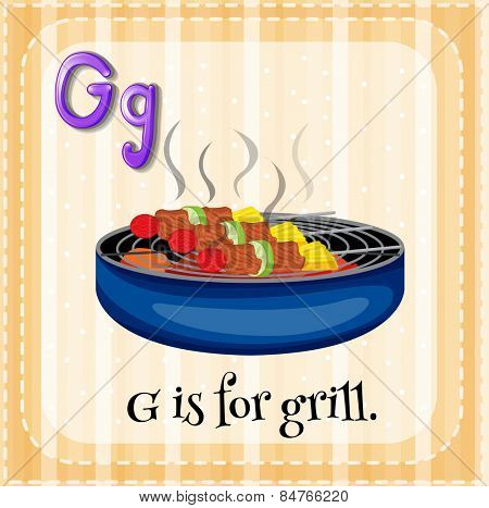 G is for grill
