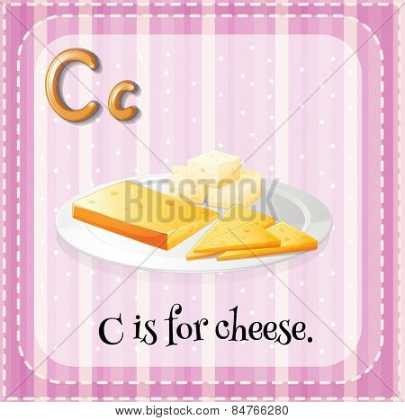 Alphabet C is for cheese