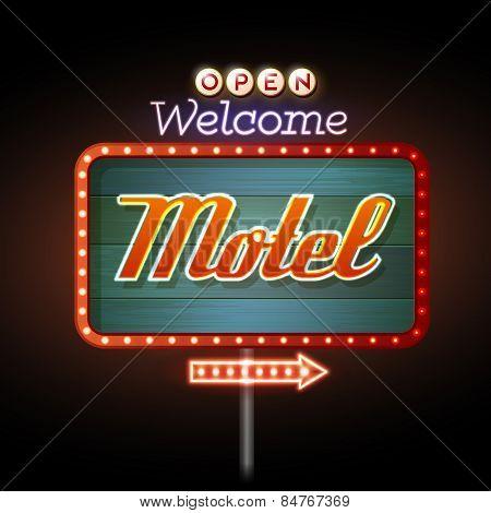 Neon Sign Motel