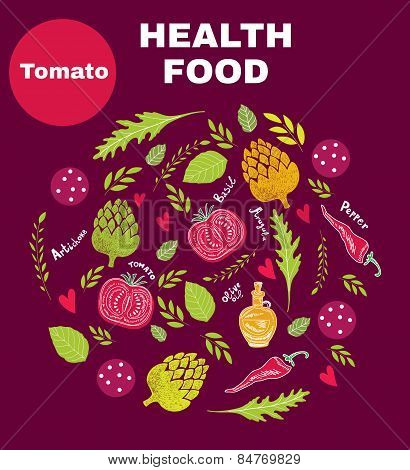 Health fresh food
