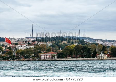 View On Istanbul From The Sea