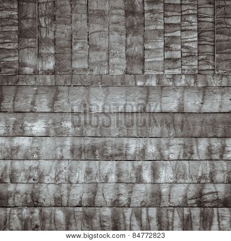 Brown Wood Log Wall Texture Background
