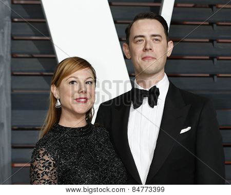 LOS ANGELES - FEB 22:  Colin Hanks at the Vanity Fair Oscar Party 2015 at the Wallis Annenberg Center for the Performing Arts on February 22, 2015 in Beverly Hills, CA
