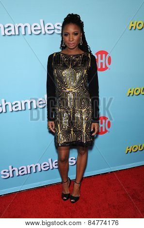 LOS ANGELES - JAN 05:  Shanola Hampton arrives to the Showtime celebrates all-new seasons of Shameless, House of Lies and Episodes  on January 5, 2015 in West Hollywood, CA