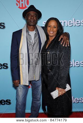 LOS ANGELES - JAN 05:  Glynn Turman & Jo-Ann Allen arrives to the Showtime celebrates all-new seasons of Shameless, House of Lies and Episodes  on January 5, 2015 in West Hollywood, CA