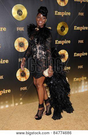 LOS ANGELES - JAN 06:  Ta'Rhonda Jones arrives to the