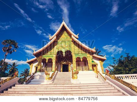 Buddhist temple in Luang Prabang,Laos