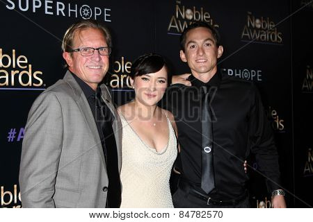 LOS ANGELES - FEB 27:  Zelda Williams, with people the Robin Williams Fund helps at the Noble Awards at the Beverly Hilton Hotel on February 27, 2015 in Beverly Hills, CA