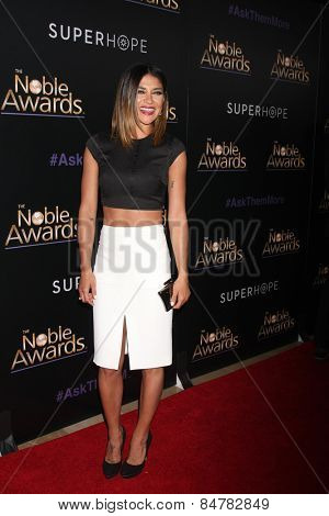 LOS ANGELES - FEB 27:  Jessica Szohr at the Noble Awards at the Beverly Hilton Hotel on February 27, 2015 in Beverly Hills, CA
