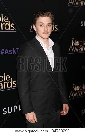 LOS ANGELES - FEB 27:  Kyle Gallner at the Noble Awards at the Beverly Hilton Hotel on February 27, 2015 in Beverly Hills, CA