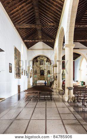 Church La Oliva Fuerteventura Las Palmas Canary Islands