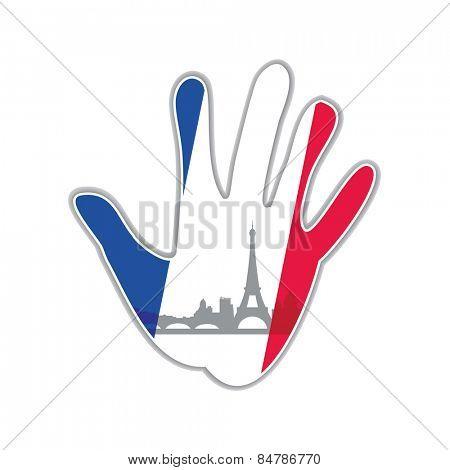 Symbol of the city - Paris The idea for the design