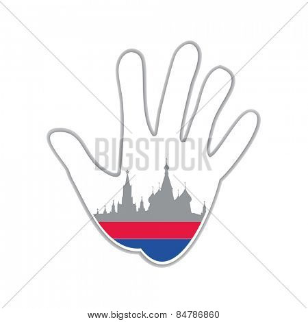 Symbol of the city - Moscow. The idea for the design