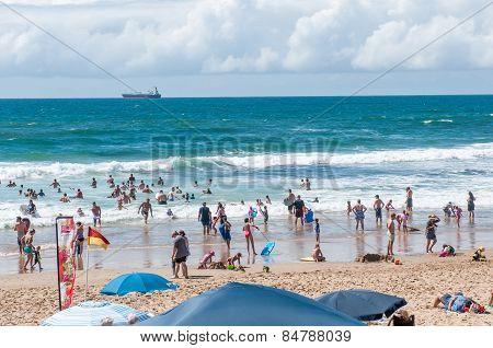 Beach At Klein Brakrivier Near Mosselbay, South Africa