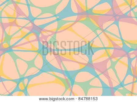 Abstract rubber band of network