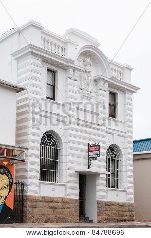 Historic Sandstone Building In Mosselbay