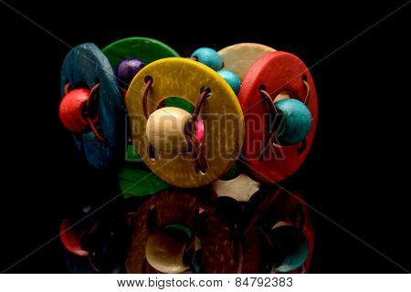 Nice Colored Wood Bracelet