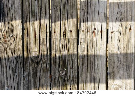 Texture Of The Old Wood Fence