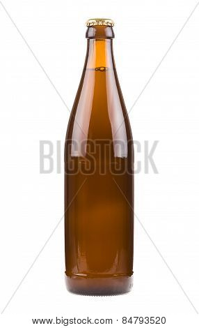 Bottle with beer
