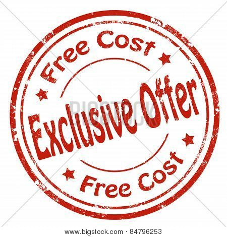 Exclusive Offer-stamp