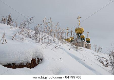 Holy Trinity Church in Zheleznogorsk-Ilim. Irkutsk region