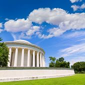 foto of thomas jefferson memorial  - Thomas Jefferson memorial in Washington DC USA - JPG