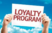 foto of loyalty  - Loyalty Program card with sky background - JPG