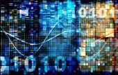 stock photo of binary code  - Digital Image Background with Binary Code Technology - JPG