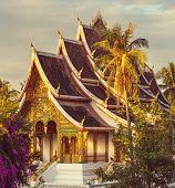 image of buddhist  - Buddhist temple in Luang Prabang - JPG