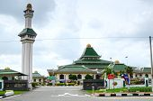 foto of malacca  - MALACCA, MALAYSIA - NOVEMBER 4, 2013: Al-Azim Mosque in Malacca. It was Malacca
