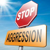 image of stop fighting  - stop aggression and violence no fighting prevent Physical or verbal aggressivity - JPG