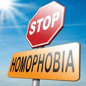 foto of orientation  - stop homophobia and discrimination towards homosexuality hostality and violence on the basis of sexual orientations - JPG