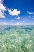 stock photo of kuramathi  - Small breeze of the Indian Ocean - JPG