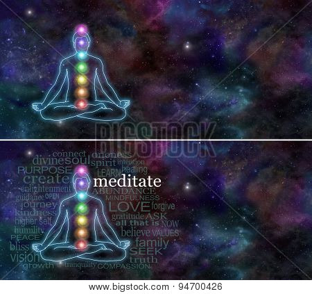 Chakra Meditation Website Header