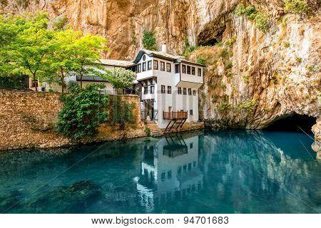 Beautiful house in Blagaj village on Buna spring