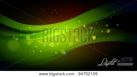 Abstract background with light.