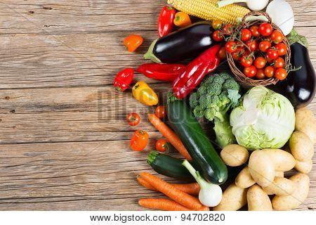 Fresh Farmers Market Vegetables