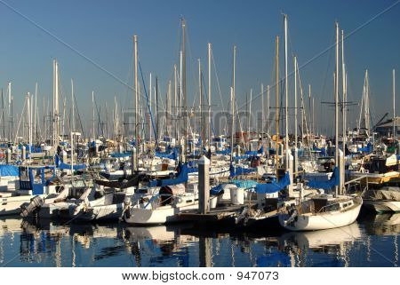 Marina In Monterey California